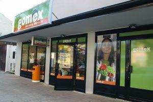 Gomex prodavnica spolja