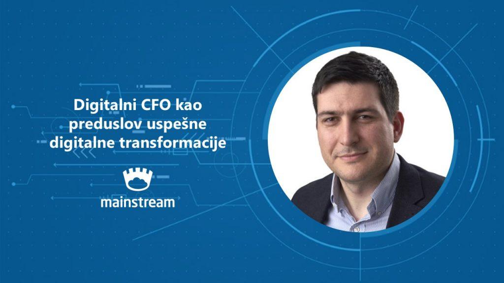 Digitalni CFO kao preduslov usoešne digitalne transformacije Aleksandar Nedeljković