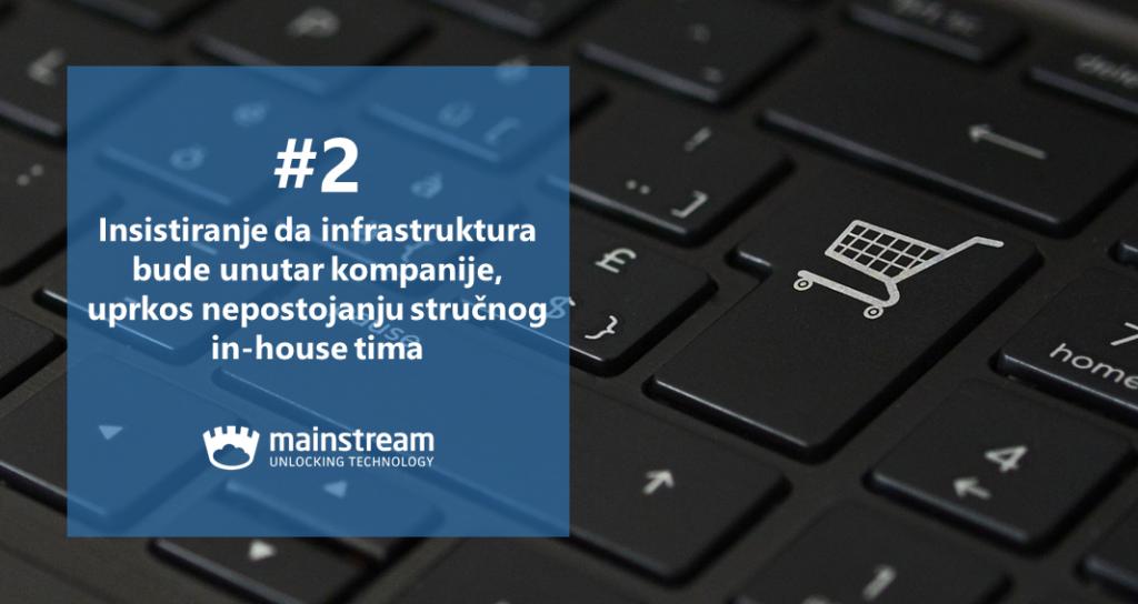 E-commerce hosting: najčešće greške 2/3