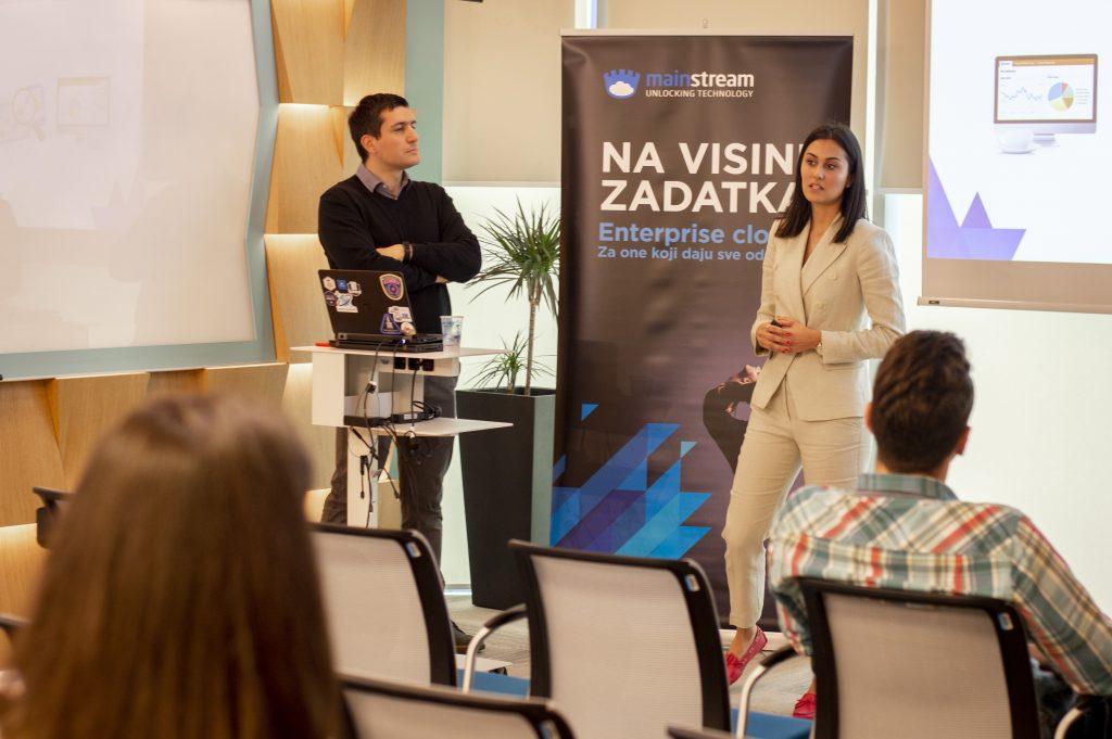 Aleksandar Nedeljković i Milica Šaulić prezentacija