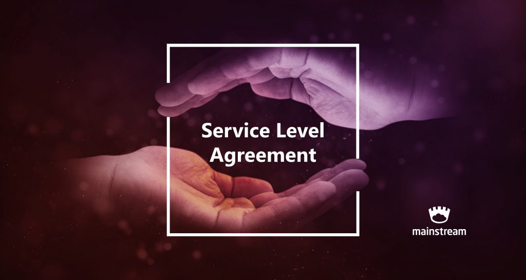 SLA Service Level Agreement Mainstream Cloud