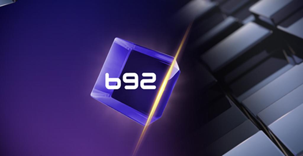 B92 logo on background