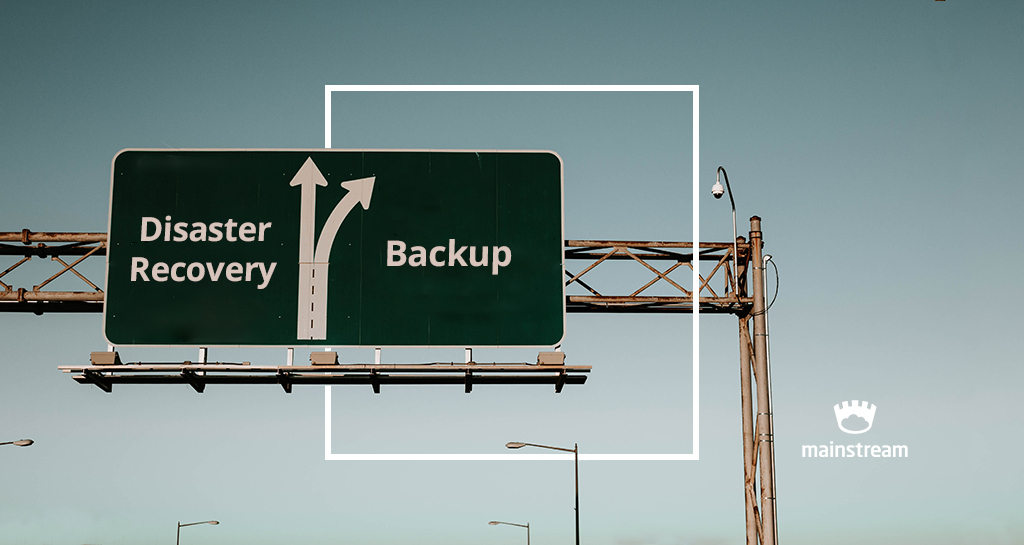 disaster recovery plan backup