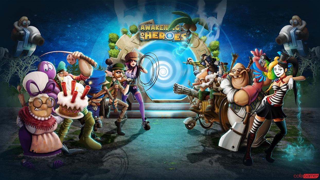 Karakteri igrice Awakegning of heroes
