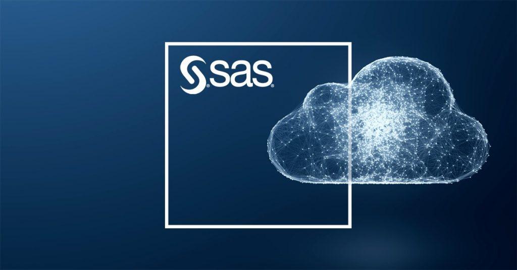 SAS Analytics logo i cloud