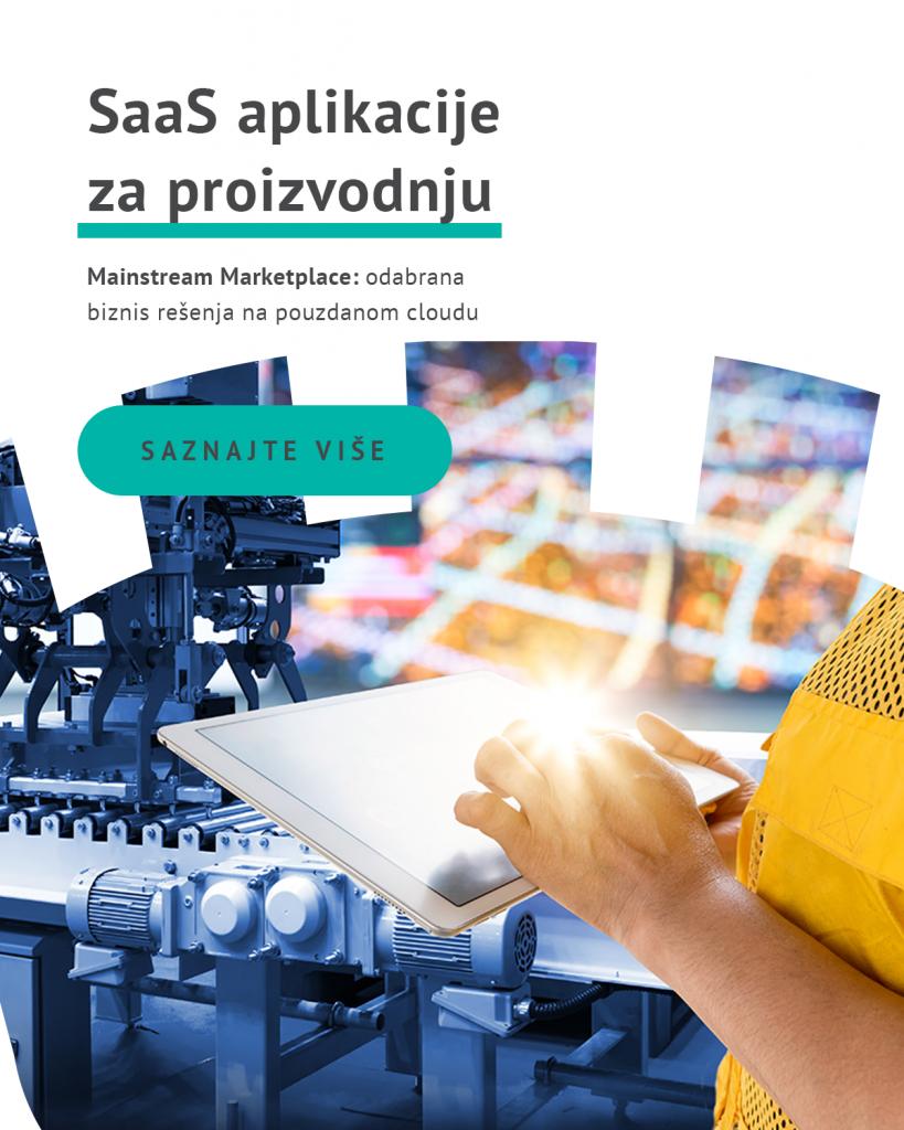 SaaS aplikacije za proizvodnju